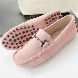 Ladies leather driving shoes