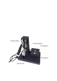 2017 heat sublimation paper Economic type good quality 200w Mini Pen Press Digital Sublimation Pen Logo Heat Press Printing Machine