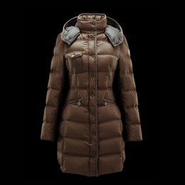 Ladies Grey Long Down Coat Online | Ladies Grey Long Down Coat for ...