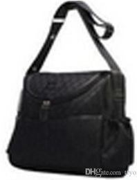 Novos Womens lona designer horsebit hobo bebê fralda marrom preto ROSA branco bolsa ombro sacos feminino marcas mensageiro Cross Body saco