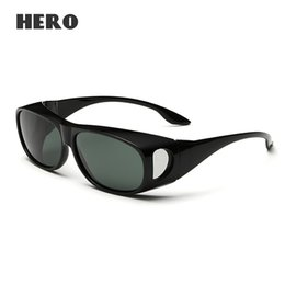 shade glasses 5poz  Wholesale-Polarized Fit Over Sunglasses Fishing Driving Outdoor Sports  Shades Men 2016 Brand Sun Glasses Night Vision Male Eyewear cheap night shade  glasses
