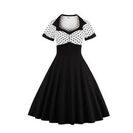 Discount Polka Dot Cocktail Dress Short - 2017 Polka Dot Cocktail ...