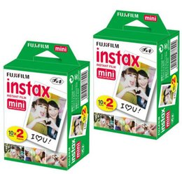 Instax White Intax pour l'appareil photo Mini 90 8 25 7S 50 Polaroid Instant Camera en stock
