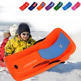 Adulto Trineo de plástico para niños Invierno Deporte de nieve Arena de hierba Tobogán de deslizamiento Trineo de nieve de trineo descendente para niño MA0271