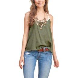 Wholesale Las tapas ocasionales WT263 del streetwear del estilo de las mujeres de la honda de las mujeres de la honda del cordón del verano de la liga del tanque de las mujeres atractivas de la honda de la camiseta de las señoras de las camisas de las mujeres