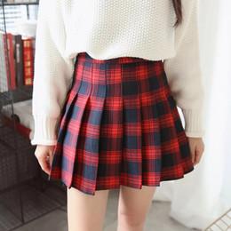 High Waisted Plaid Skirt Online | High Waisted Plaid Skirt for Sale