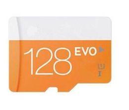 Tarjeta vendedora caliente EVO 48m / s 128GB Micro Tarjeta SD Class10 Tarjeta TF Tarjeta SD Adaptador UHS-1 SDXC SDHC Para Samsung Smartphone Con blister Paquete