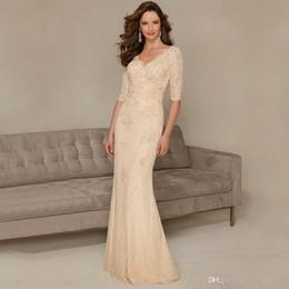 Mother Bride Dresses Long Sleeves Sequins Online | Mother Bride ...
