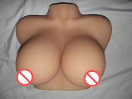 Wholesale D muñeca grande del sexo del pecho muñeca real del silicón muñeca grande del sexo del pecho juguetes japoneses del silicón muñecas lifelike del sexo del silicón para el masturbator masculino