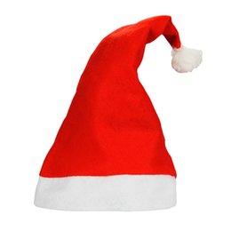 Золотые руки 2016 года новые рождественские шапки Санта-Клаус шляпы Рождественские подарки Новый год Украшение Cap для детей и взрослых