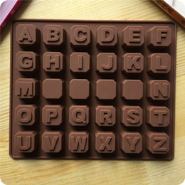 discount letter molds for chocolate sillicone letters alphabet chocolate mold fondant cake molds chocolate decoration for