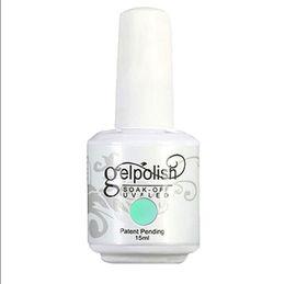 Uñas Gel Esmalte IDO Gelpolish 15ml 120 Colores Glitter Fundación Top Coat Manicura Consejos Diseño de uñas