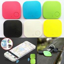 Bluetooth смарт-тегов Finder кошелек Key Tracker Детский Pet GPS Locator сигнализации Зеленый