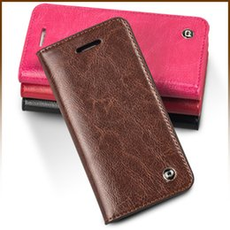 online shopping Card Holder Genuine Flip Wallet Leather Case For Apple Cover for iPhone S