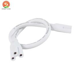 1ft 2ft 3ft 4ft 5ft câble pour T8 T5 intégré conduit tubes lumières connecteur conduit cordon prolongateur CE ROHS UL DLC
