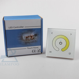 NEW 2 Channel DC12-24V Color Temperature Touch Glass Panel Led Controller Dimmer Common Anode Connection from connection panel manufacturers