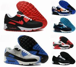 2017 shoes run air max Hot Sale Max 90 Ultra High Quality Men Running Shoes Fashion Mens Sports Max90 Breathable Training Cheap Maxes Sneakers Size 40-45 Air