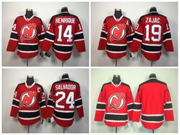 NHL Jersey Devils 24 Bryce Salvador 19 Travis Zajac 14 Adam Henrique Red New  Jersey Devils 24 Bryce Salvador White ... b3ba7703a