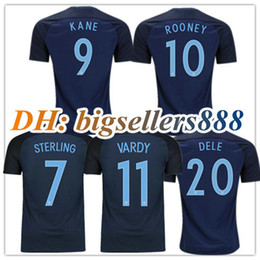 6aaba7e8eea online shopping Top Thai quality World Cup soccer Jersey england ROONEY  home blue KANE STURRIDGE STERLING