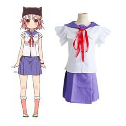 2017 japanese school girl costumes Japanese Anime Gakkou Gurashi! SCHOOL,LIVE!  Takeya Yuki