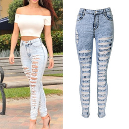 High Waist Distressed Jeans Online | High Waist Distressed Jeans ...