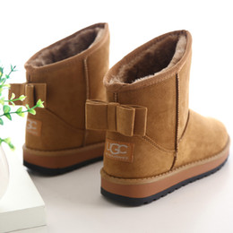 Discount Snow Boots Ladies | 2017 Ladies Leather Snow Boots on ...