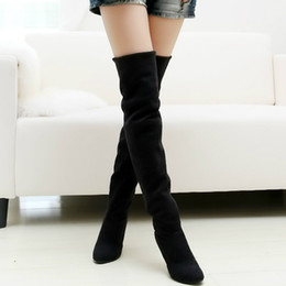 Discount Over Knee Boot Big Size | 2017 Over Knee Boot Big Size on ...