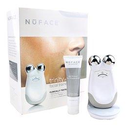 Nuface Тринити Комплект устройства Тонирование лица клинические испытания для улучшения контура лица, тон для ухода за кожей и уменьшения морщин США Корея DHL