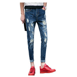 Scratched Jeans For Men Online | Scratched Jeans For Men for Sale