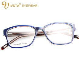 wholesale ivsta g1280a handmade acetate optical frame cat eye glasses for women butterfly shadow color can custom to lenses with degree