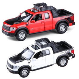 132 metal model car kids toy vehicles for children hot wheels train steering wheel pickup truck raptor amarok