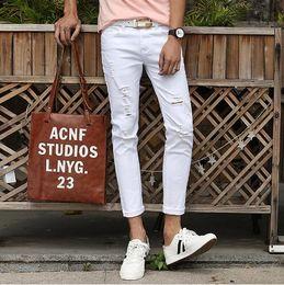White Pants Thin Black Stripes Online | White Pants Thin Black ...