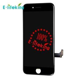 Noir blanc écran LCD tactile numériseur écran remplacement complet pour iPhone 7 4.7 '' Livraison gratuite