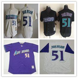 cheap 2017 arizona diamondbacks 51 randy johnson men baseball jersey cool base top