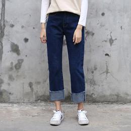 Dark Denim Boyfriend Jeans Online | Dark Denim Boyfriend Jeans for ...