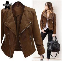 Discount Dark Brown Leather Jacket Women | 2017 Dark Brown Leather ...