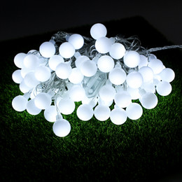 Connectable Outdoor Christmas Lights: Discount connectable outdoor christmas lights Wholesale-connectable 10M led  String Lights with 70 ball led,Lighting