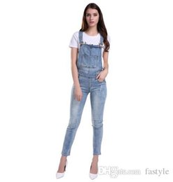 Discount Sexy Denim Jumpsuit For | 2017 Sexy Denim Jumpsuit For on ...