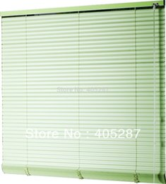 Wholesale 25mm S Shape Pvc Venetian Blinds Quality Customize Curtain Window Blind Louver Window Wand Control