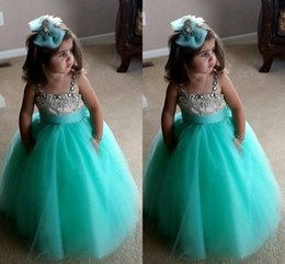 Discount Turquoise Toddler Pageant Dresses  2017 Turquoise ...