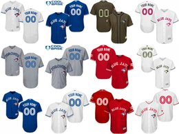 online shopping 2016 Flexbase Custom Men s Toronto Blue Jays Authentic Collection Personalized cool base Baseball Jersey Stitched SIZE S XL