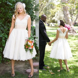 Discount Casual Garden Wedding Dresses  2017 Casual Garden ...