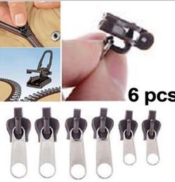 Зафиксируйте комплект молнии застежки -молнии застежки -молнии застежки -молнии застежки -молнии 6Pcs / установите всеобщие застежки -молнии 3 размера 6 инструментов пакета необходимых Одежда KKA1623