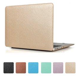 MacBook 13.3 Pro Housse en Silk Soft Touch Folio pour MacBook Air Pro Retina 11.6 12. 13.3 15.4 avec Touch Bar