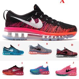 Discount shoes run air max Wholesale Women Air Mesh 2017 Maxes New Colors Mixed 90 shoes for Men Sport Casual Jogging Running Sneakers maxs 2016 High Quality