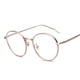 discount designer eyeglass frames for men wholesale wholesale women eyeglasses brand designer oval rose alloy
