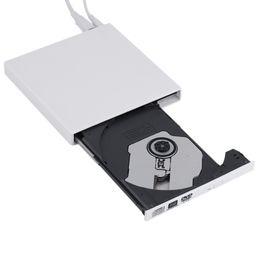 Vente en gros-2016 plus récent noir USB 2.0 externe CD + -RW DVD + -RW DVD-RAM Burner Drive Writer pour PC portable