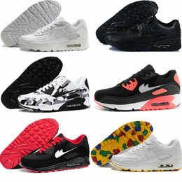 2017 shoes run air max New Classical Maxes 90 hyp Running Shoes For Women & Men,Cheap Brand Air Soft Cushion Outdoor Trainers Sneakers Sport Shoes Eur Size 36-45