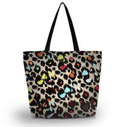 Discount Leopard Beach Tote | 2017 Leopard Beach Tote on Sale at ...