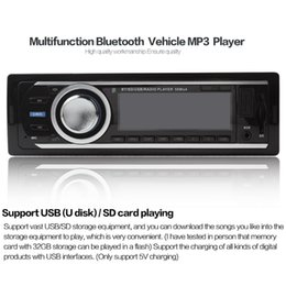 Autoradio stéréo Bluetooth Radio AUX-IN MP3 Lecteur audio FM / USB 12V 1 Din CEC_848